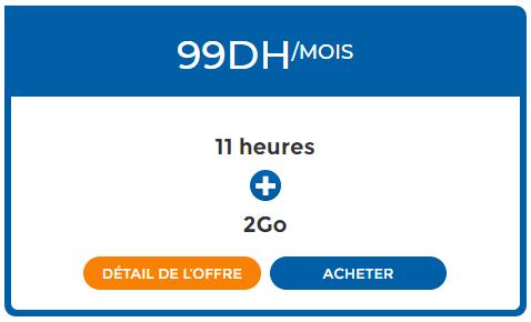 فورفي اتصالات المغرب 99 درهم