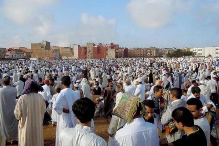 تقديم التهاني والمعايدة في عيد الأضحى بالمغرب